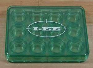 LEE 12 Shell Holder Box Green discontinued $9.99
