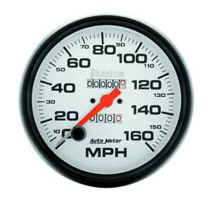 Aut5895 Autometer 5895 Phantom Speedometer 5 160 Mph Mechanical