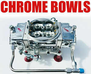 Quick Fuel Q 750 ban Annular Clear Color Mech Blow Thru With Chrome Bowls Line