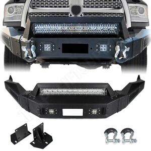 Step Front Bumper Assembly New For Dodge Ram 1500 2013 2018 Pickup Steel