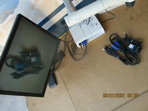 Elmo Document Camera Tt 02s adapter vga usb Printer Cable Tested Works