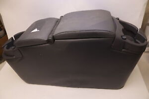Rampage Products Universal Padded Mini Van Storage Console Charcoal 39923