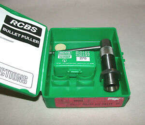 RCBS Bullet Puller with 270 Caliber # 270 Collet # 09440 $69.95