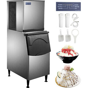 Vevor Flake Ice Machine Snowflake Maker 500 Lbs 24 H Flake Ice Maker Commercial