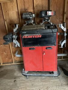 Used Hunter Alignment Machine