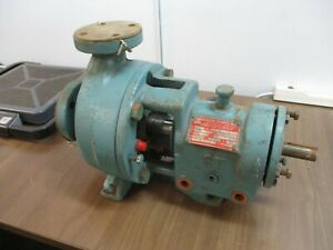 Goulds Pump 3196 Size 1x1 50 6 3500rpm Used