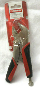 Craftsman 7 Inch Locking Straight Jaw Pliers With Easy Release Action
