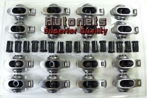Chevy Small Block Sbc 305 350 400 Stainless Steel Roller Rocker Arm 1 52 7 16
