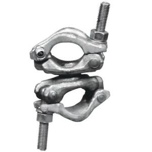 All Purpose Bolted Swivel Dual Clamp For Scaffold Frame Galvanized Heavy Duty