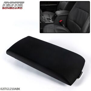 Fit For 13 2017 Ford Flex Black Armrest Center Console Lid Cover Fa8z 7406024 Ab