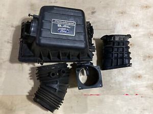 99 04 Ford F150 Harley Truck Svt Stock Oem Air Intake Box 5 4l Supercharged