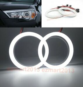 Cotton White Led Halo Ring For Toyota 4runner 14 19 Headlight Angel Eye Drl Lamp