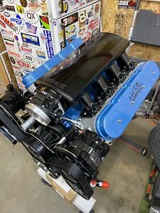 Chevy Ls 427 Stroker 6 2l 560 720hp Crate Engine Ls3 Turnkey New Gm Aluminum Blk