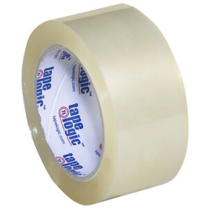 2 X 55 Yds Clear Tape Logic 350 Industrial Tape 3 5 Mil 6 Pack