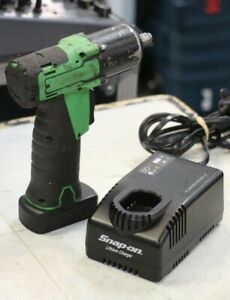 Snap On Ct761ag 14 4v 3 8 Cordless Green Impact Driver W Battery Charger