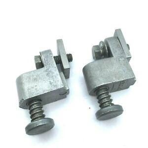 2pcs Align Milling Machine Parts power Feed Travel Stops