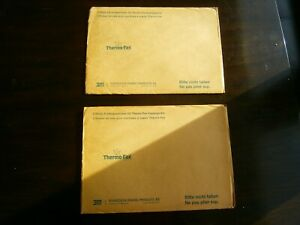 2 Packs Of 3 Thermo fax Screens By 3m