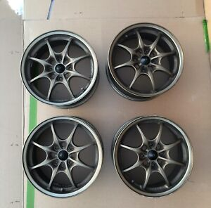 Genuine Jdm 16 Honda Mugen Mf8 Wheels Rims Accord Civic Acura Integra
