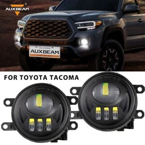 For Toyota Tacoma 2016 2019 Led Bumper Fog Lights Projector Driving Lamp Auxbeam