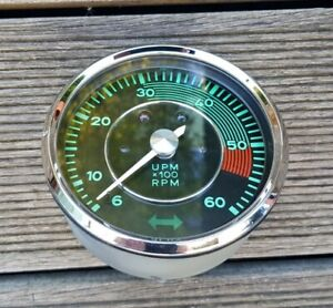 Porsche 356 1600 C Mechanic Tachometer Complete Refurbished