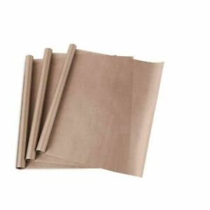 3pack 16x20 Ptfe Teflon Sheet For Heat Press Transfer Sheet Non Stick Paper Mat