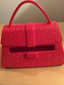 Post It Pop up Note Dispenser Red Purse clean And Complete