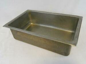6 Deep Heavy Duty Full Size Steam Hotel Table Pan Commercial Kitchen Restaurant