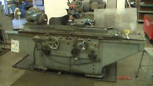 Brown And Sharp 11 X 48 Cylindrical Od Grinder Model 5437 Serial No 3