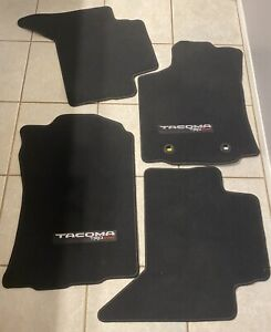 Toyota Trd Sport Oem 4 Piece Black Carpeted Floor Mats Tacoma 2018 20 Authentic