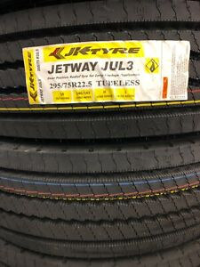 Jet Tyre Jul3 Drive Tire 295 75r22 5 2 Tires 16 Ply