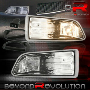 For 2005 2010 Scion Tc Replacement Clear Fog Lights Lamps Pair Wiring Harness