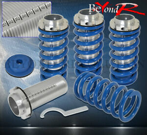 94 01 Integra Ls Rs Gs Gsr Dc2 Blue Lowering Coilover Coil Spring Scale Sleeves