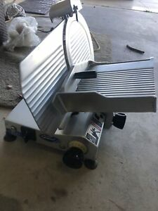 General Gs300 General Slicing Red Goat Disposers Meat Slicer Made In Italy