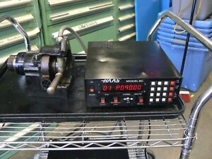 Haas 5c 7 Pin Rotary Indexer 4th Axis Manual Closer Controller Tested Good 3