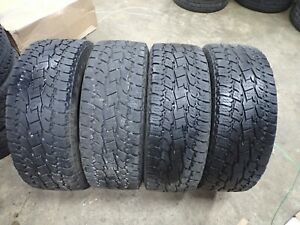 4 265 60 20 121 118s Toyo Open Country A Tii Tires 10 11 32 No Repairs 3318