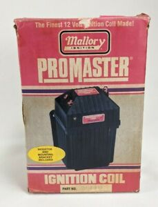 Mallory 29440 Ignition Coil Promaster Classic Series Coil