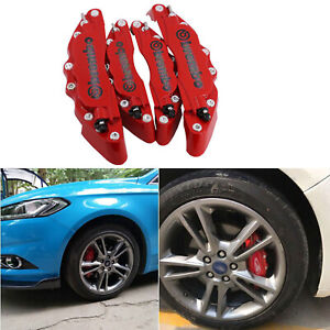 New Metal Brake Caliper Cover High Quality 3d Front Rear For Bmw 128i 328i X3