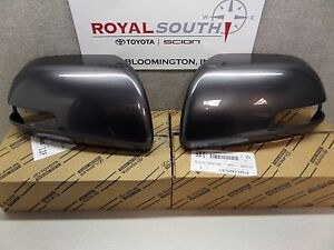 Toyota Tacoma 2012 2015 Magnetic Gray Outer Mirror Covers W Ts Set Genuine Oe
