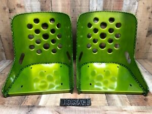 Iron Ace candy Green Hot Rod Rat Rod Bomber Seat s