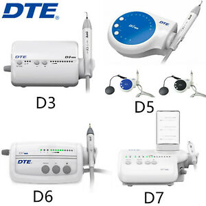 Woodpecker Dental Ultrasonic Piezo Scaler With Led Handpiece Tip Dte D3 D5 D6 D7