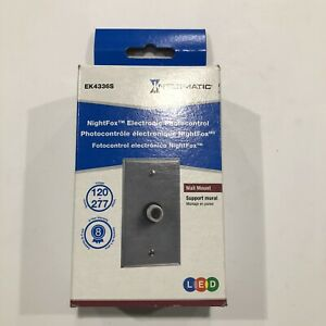 Intermatic Ek4336s Electronic Photo Control With Wall Plate New