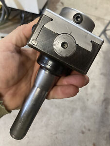 Criterion R8 Bridgeport Milling Machine Boring Head Machinist Tool For 1 Bars