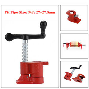 Gluing Pipe Clamp Woodworking Vice Hand Tool Wide Glue Clamp Universal 3 4 Kit