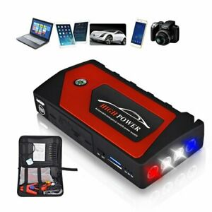 Portable Mini Slim 69800mah Car Jump Starter Engine Battery Charger Power Bank