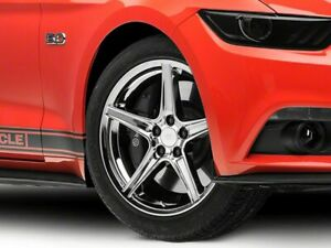 American Muscle Saleen Wheel In Chrome 19x8 5 For Mustang 15 20 Ecoboost V6