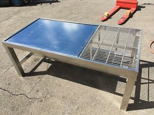 Nta Industries Ss Pneumatic Vibration Isolation Table 217002 121712 Clean Room
