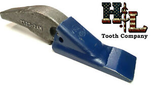 L 2520 2ah H l Tooth Original Weld On Adapter 2a Teeth Crimped Assembly Bw Style