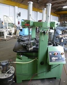 48 Lapmaster Lapping Machine No 48 4 Rings Air Hold Downs 10 Hp 1996 30