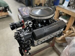 383 R Stroker Crate Engine A C 508hp Roller Turnkey Prostret Chevy Sbc Motor