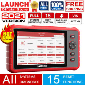 Launch X431 Car Obd2 Scanner Abs Srs Engine Car Diagnostic Tool Tpms Code Reader